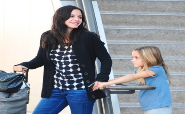 Courteney Cox : Sa fille perturbée par son comportement