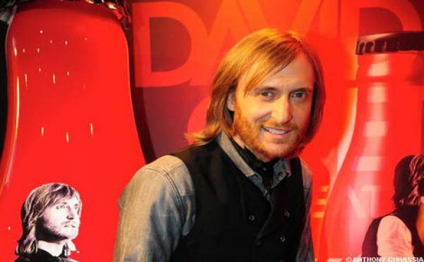 David Guetta pétille avec Coca-Cola