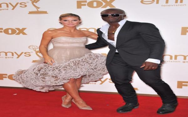 Seal violent avec Heidi Klum