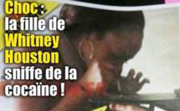 PEOPLE : Whitney morte, sa fille sniffe de la cocaïne !