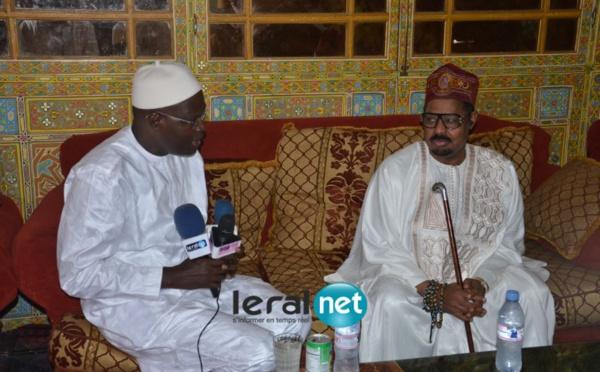 Les images exclusives de la visite de Khalifa Sall chez Ahmed Khalifa Niasse
