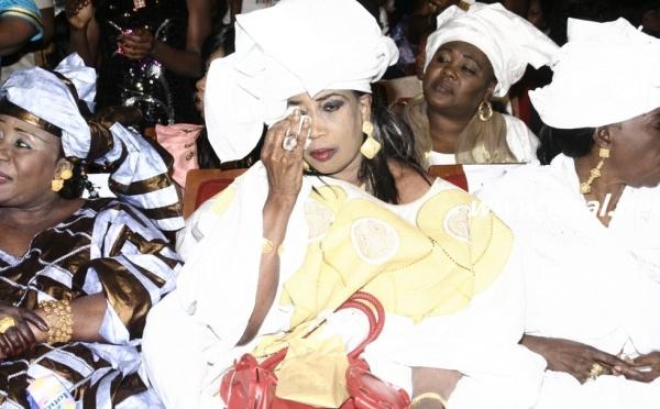 Kiné Lame en larme lors de l'anniversaire de Coumba Gawlo Seck à Sorano