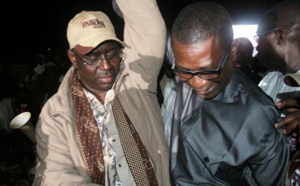 Youssou Ndour au meeting de Macky Sall, hier