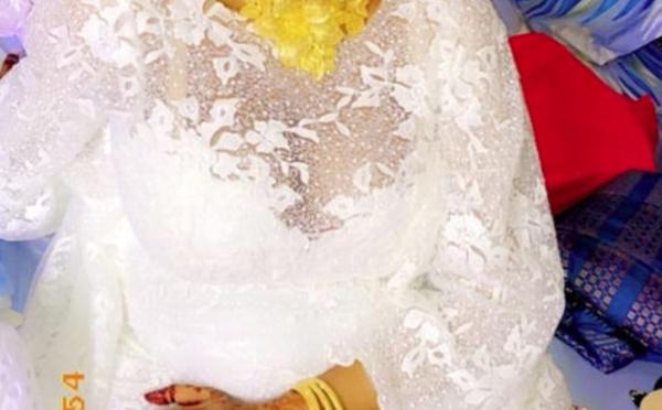PHOTOS - La belle-fille de Moustapha Cissé Lô a cassé la baraque le jour du baptême de son fils