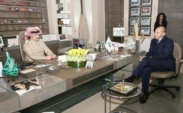 Karim Wade en compagnie de la 5ème fortune du monde