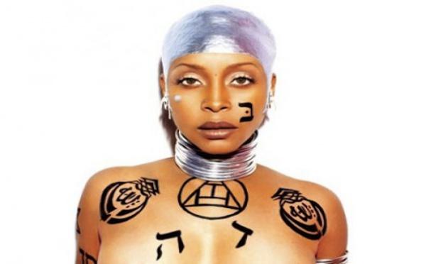 Erykah Badu interdite de concert à cause d'une photo d'elle tatouée