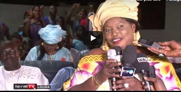 LOUGA - Visite de Aliou Sall à Ngourane, regardez l'accueil chaleureux ! (VIDEO)