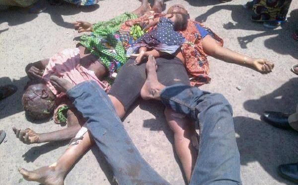 Photos de l'explosion d'un dépôt de munition a Brazzaville