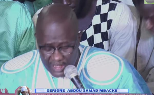 Magal Khassida yi 2019 S. Abdou Samad Mbacké