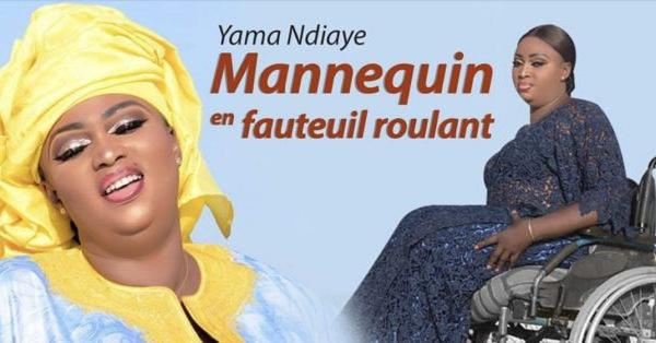 PHOTOS - Yama Ndiaye, mannequin en fauteuil roulant, soutenue par sa fille
