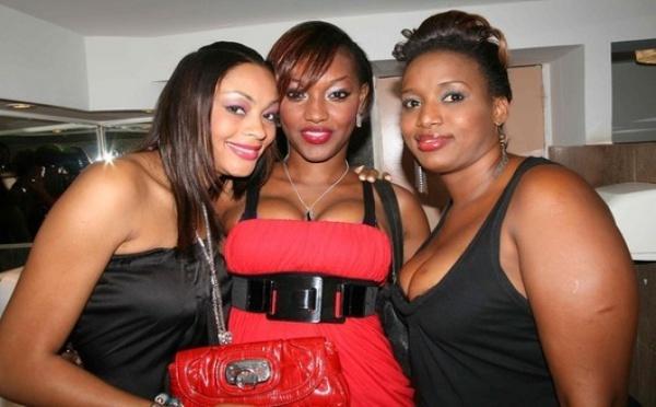 Les images sexy du Mannequin Adja Ndoye et compagnie