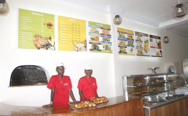 Les photos exclusives du nouveau restaurant Kaolackois Kbrunch