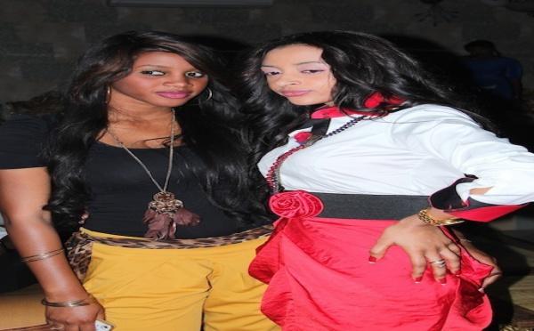 Photo exclusive : Sokhna Aidara très complice avec la belle Bintou Seck !