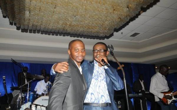Dj Coco Jean et le Ministre de la Culture et du tourisme Youssou Ndour