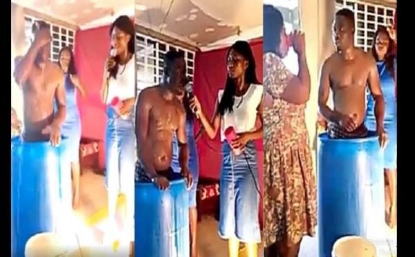 """Ghana : Un """"pasteur"""" se lave à l'église et demande aux fidèles de boire l'eau de son bain"""