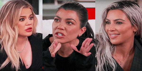 Une décision de Kourtney provoque une vive tension entre les sœurs kardashian