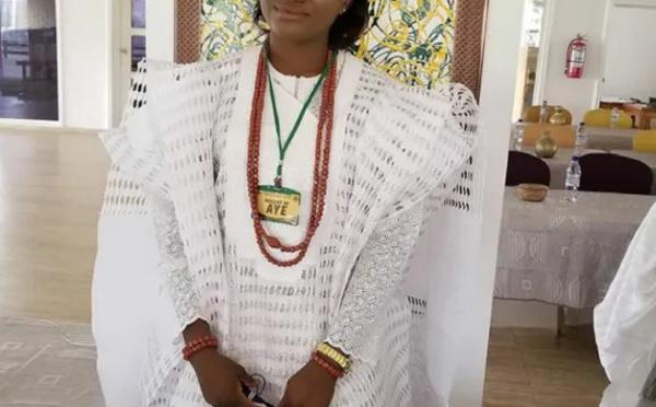 Nigeria: Taiwo Oyebola Agbona, une jeune étudiante de 23 ans intronisée reine