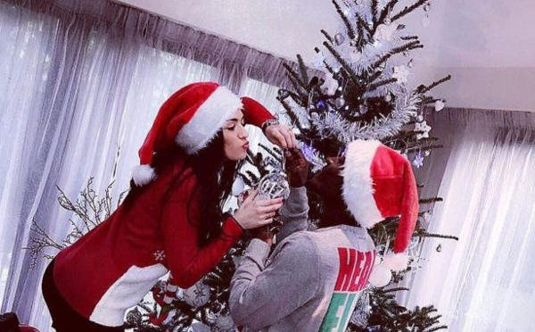 PHOTOS - Idrissa Gana Guèye fête Noël en amoureux