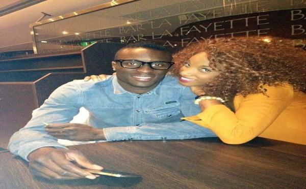 La miss Ayssé Ndiaye en compagnie du Footballeur Lamine Sané !