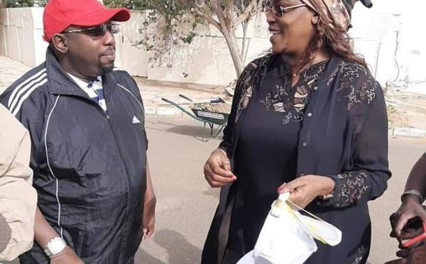 """""""Cleaning Day""""- Après avoir donné le ton, le couple présidentiel du Sénégal a été la grande attraction (images)"""