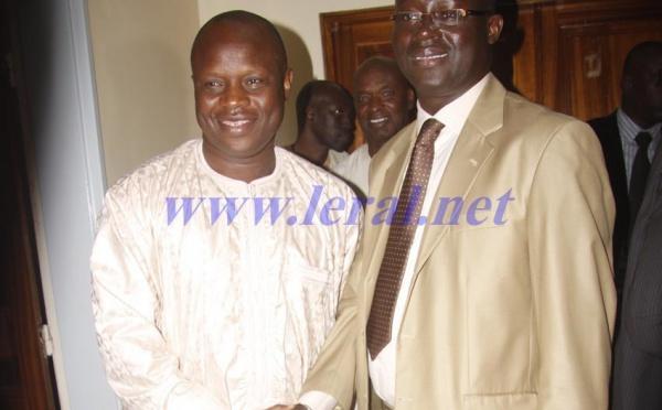 Amara Traoré et Augustin Senghor enterrent la hache de guerre