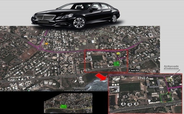 Exclusif! Voici l'endroit où le régime sortant dissimule un grand nombre de véhicules de luxe