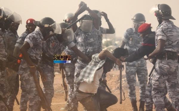 Ce rastaman, ami de Balla Gaye 2, a passé un moment inoubliable avec ces jeunes policiers
