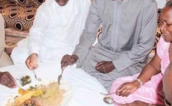 Arrêt sur image – Souvenir: Moustapha Diakhaté et Macky Sall autour d'un bol en 2012