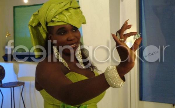 L'artiste Ndiollé (diamant noir) en feeling publicité !!!