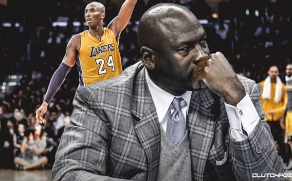 Michael Jordan se prononce sur la mort de Kobe Bryant