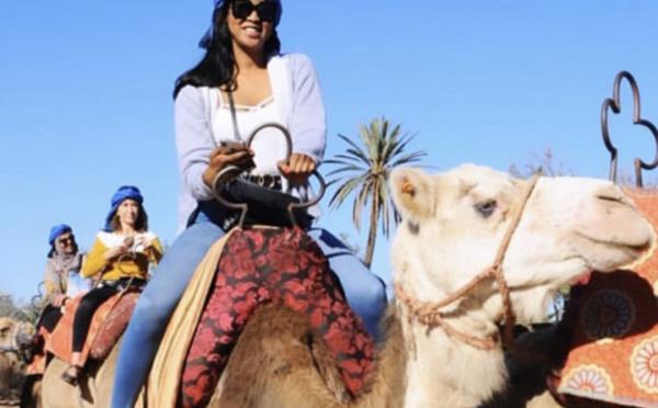PHOTOS - Mauritanie: Souadou Sy alias Nabou de la série «Pod et Marichou», de retour à son pays d'origine