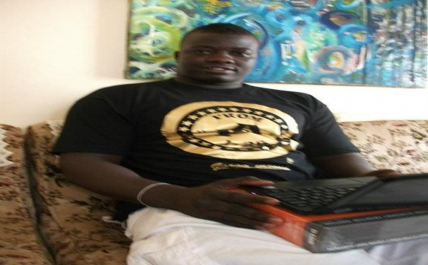 Quand Garga Mbossé s'initie à l'informatique