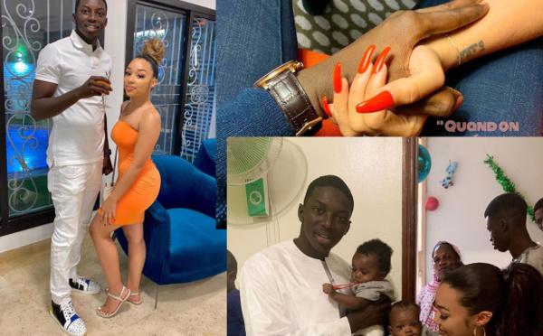 Les nouvelles photos du fils d'Aly Ngouille Ndiaye avec sa ravissante copine