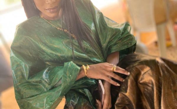 Les premières images du baptême du fils de Nafissatou Dièye de la Sentv