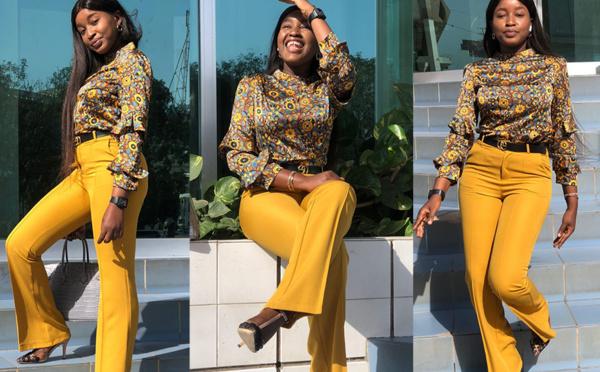 PHOTOS - Khadia Sy se dévoile dans un nouveau style