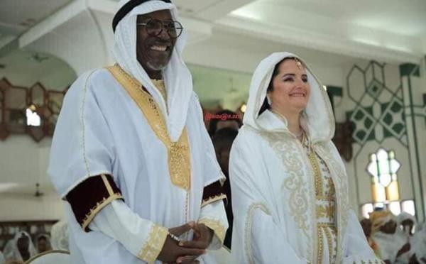 Les images de la cérémonie du mariage religieux d'Alpha Blondy