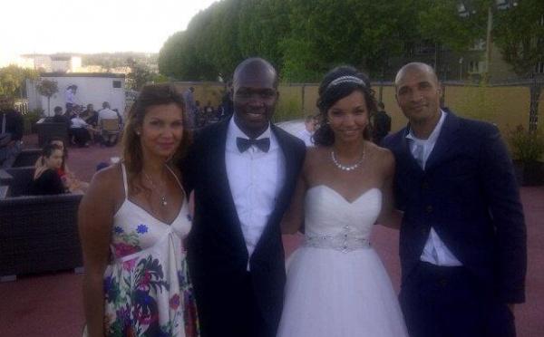 Photo : Moussa Sow et sa ravissante femme !