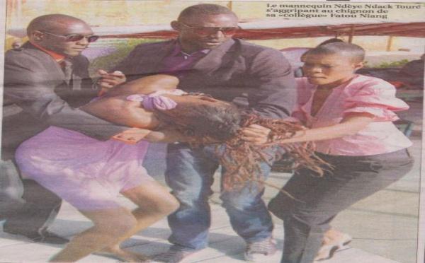 Photo : Quand Ndèye Ndack se battait avec une autre fille mannequin !