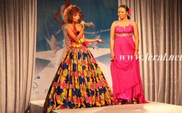 Les deux présentatrices Ivoiriennes de la soirée africaine de SIRA Vision