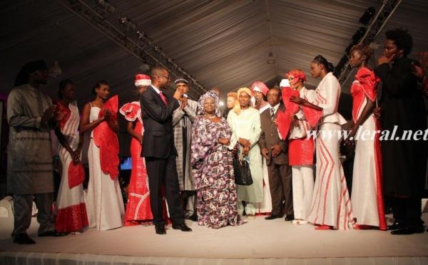 Youssou Ndour tient son discours de remerciement