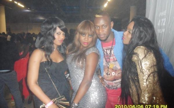La bande à Mamilajolie Diagne à la soirée de Thione Seck à Paris