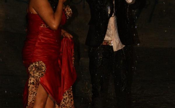 Wally Séck et Thioro Balbaki arrosés par la pluie