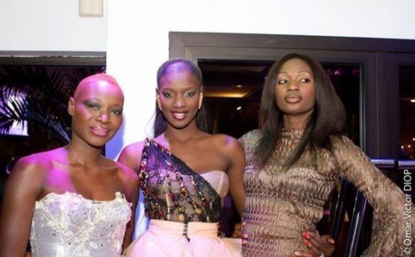 Photo : Fleur Mbaye, Lissa et Fatoutine aux trophées de la mode