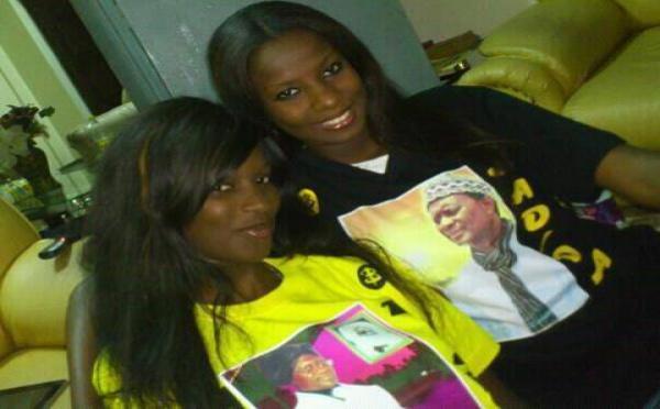 Lissa et sa soeur Sophia soutiennent Serigne Modou Kara