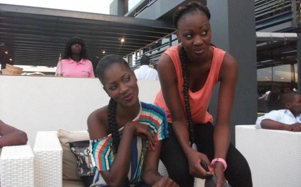 Fatoufine et Lissa très complices