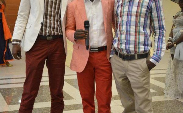 Tange (VIP) dans la série Bégué Time avec le paparazi Gomis et DJ Boubs au Grand Bégué