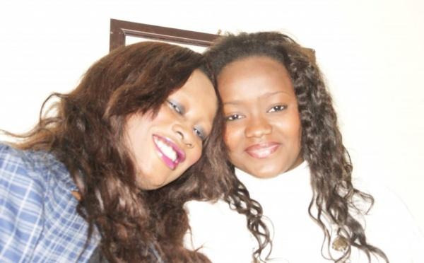 Voici Chacha et Sakina les deux actrices de la série Bégué