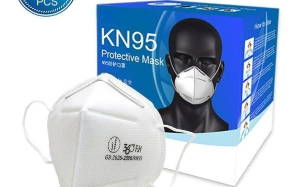 Lot de Masques FFP2 certifiés respiratoires protection KN95 à Vendre Dakar