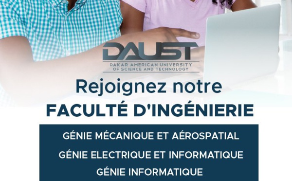 Découvrez la Dakar American University of Science & Technology (DAUST) et ses programmes en cycle d'ingénieur sur 5 ans !