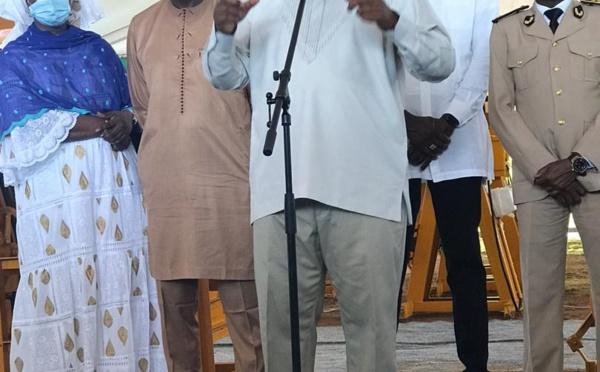 PHOTOS: Le président de la République Macky Sall à Kaolack